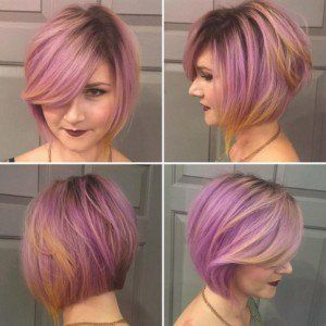 Women short hairstyles for round face! bob kourema mov mallia