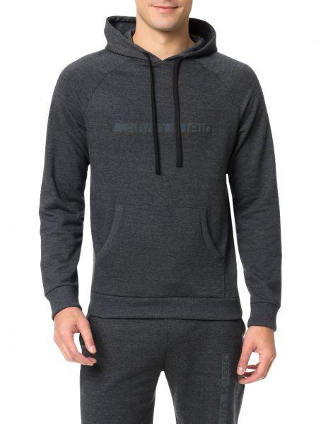 8e5ef48da627a Casaco De Moletom Grafite Calvin Klein Underwear - Casaco de moletom  masculino cinza homewear Calvin Klein Underwear com capuz e logo  centralizada no peito.