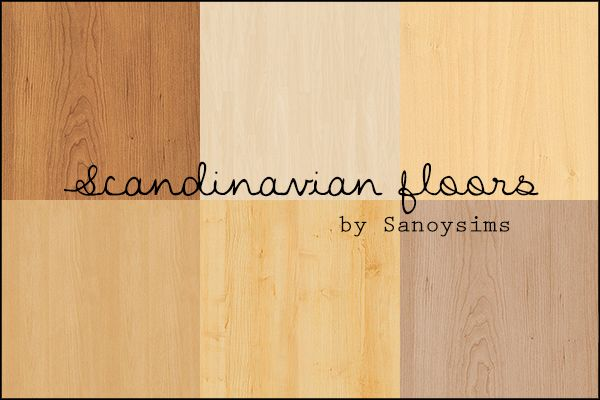 6 seamless wood floors in typical scandinavian style. Hope you like them!Download