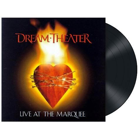 "L'album dei #DreamTheather intitolato ""Live at the Marquee"" su vinile nero 180 gr."