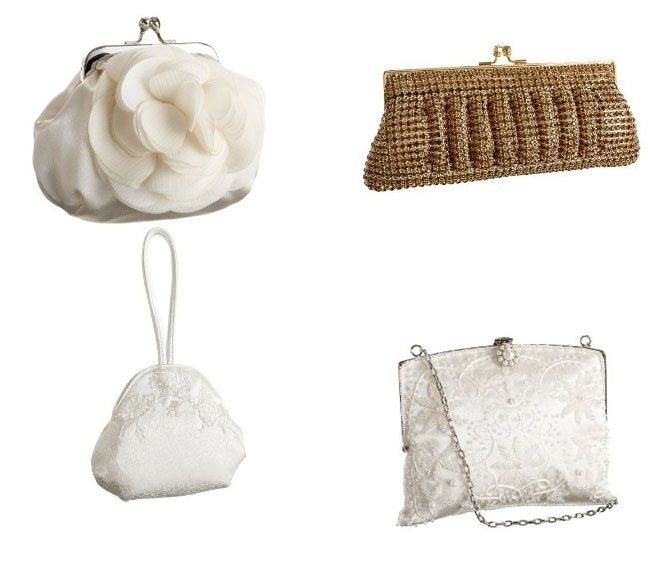 Wedding Handbags For Brides   Variety Of Bridal Handbags For Every Budget