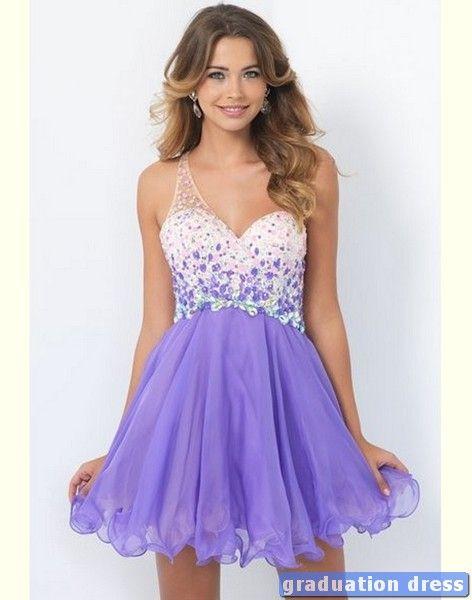 White Graduation Dresses Middle School - Prom Dresses Vicky