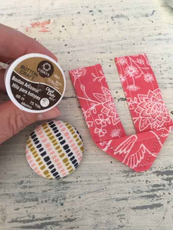 Learn How to Sew A Covered Button and Tab Closure for Any Bag
