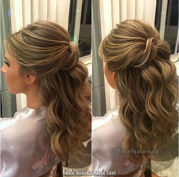 Espectacular Flequillo Hair Styles Wedding Hair Inspiration Prom Half Up Hair