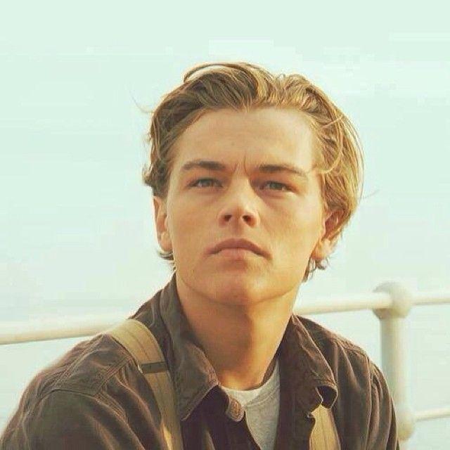 Young Leonardo Dicaprio Titanic Eyes Cute Guys