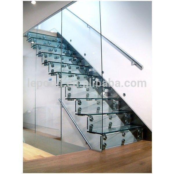 n mayorista china precio barato de cristal escaleras seguridad voladizo escalera de cristal