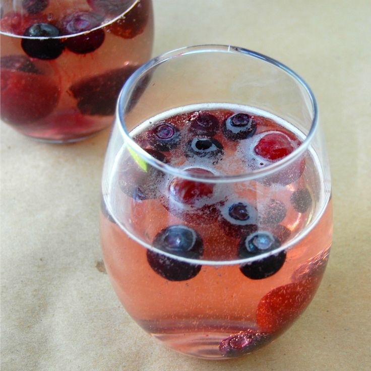 Red Wine & Blue Summer Spritzer | Easy, delicious, and refreshing! Perfect for a Fourth of July Party or any Summer BBQ