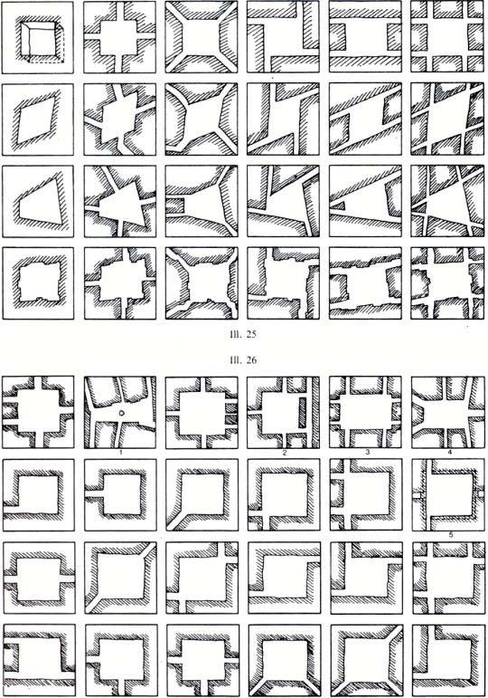Rob Krier Morphological Series of Urban Spaces
