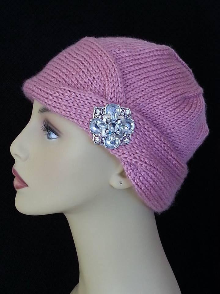 Chemo Caps Knitting Patterns : Pin by Lisa Quaglia Gordon on My Knitting Work Pinterest