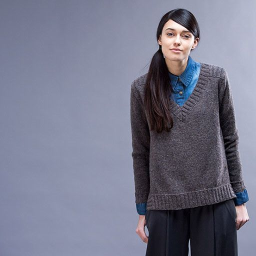 WP 9, Gehry Pullover Pattern – Knit Purl