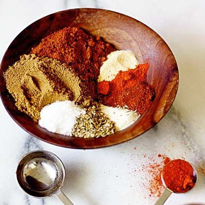 Homemade Taco Seasoning~What you'll need 1/2 cup chili powder~ 1/4 cup ...