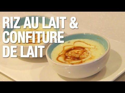 ▶ Riz au lait et confiture de lait - YouTube