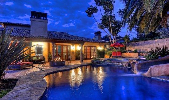 pool with waterslide carlsbad vacation rental 4 bedroom with pool