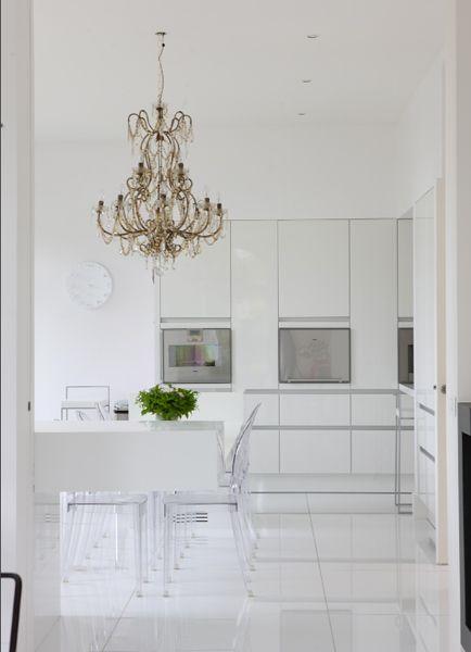 Decorer cuisine toute blanche conceptions architecturales - Decorer cuisine toute blanche ...