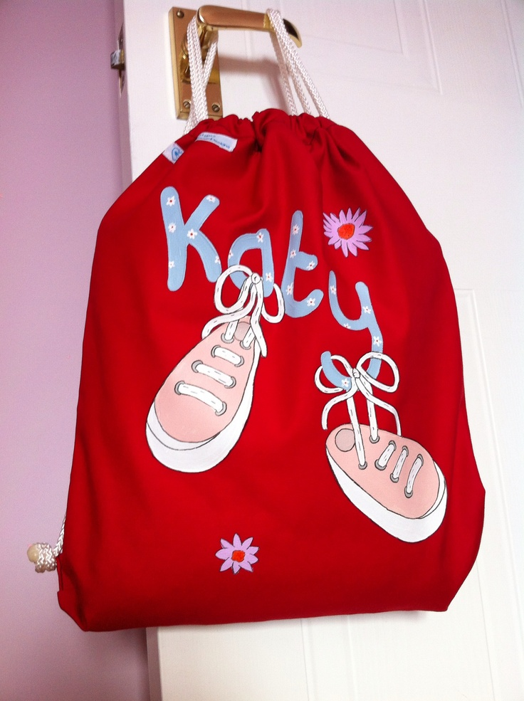 Katy loves this bag to keep her gym shoes in now she has started school.