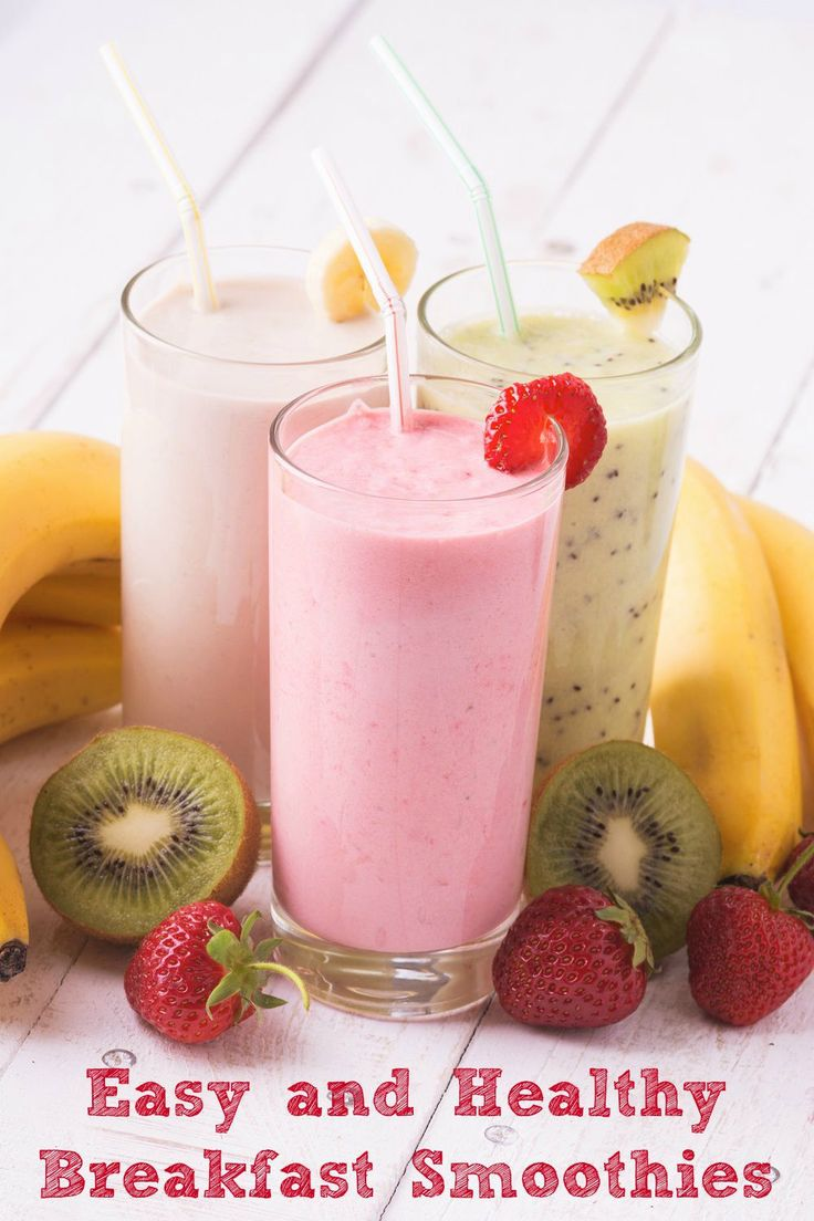 What better way to start your morning than with a delicious smoothie. Here are…