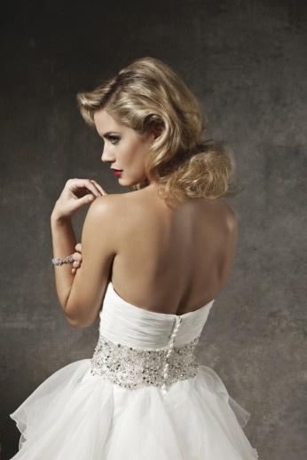 Robe de mariée JUSTIN ALEXANDER d'occasion à Paris