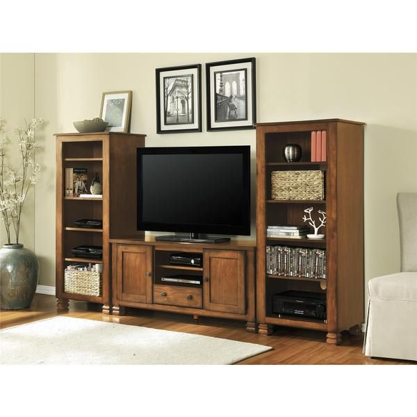 altra summit mountain tuscany oak 55 inch tv stand