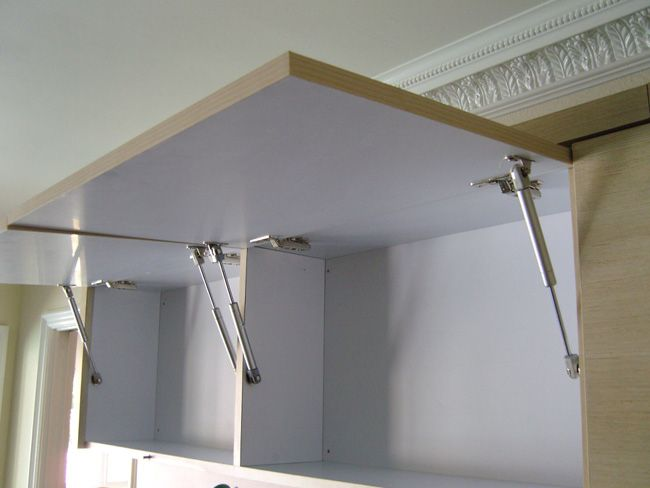 Lift Door Cabinet Hardware : Cabihaware lift up cabinet door hardware vertical