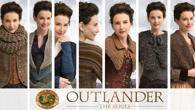 Lion Brand presents 14 new knit & crochet kits inspired by Outlander: The Series!