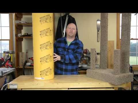 How to DIY heavy Duty Cat Tree - Tower - Climber for a Maine Coon cat - YouTube