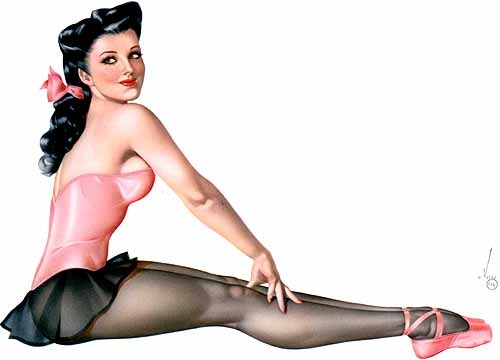 Esquire, Calendar Girl (1944) by Vargas