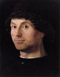 Antonello da Messina . Portrait d'un jeune homme . 1472/3 -