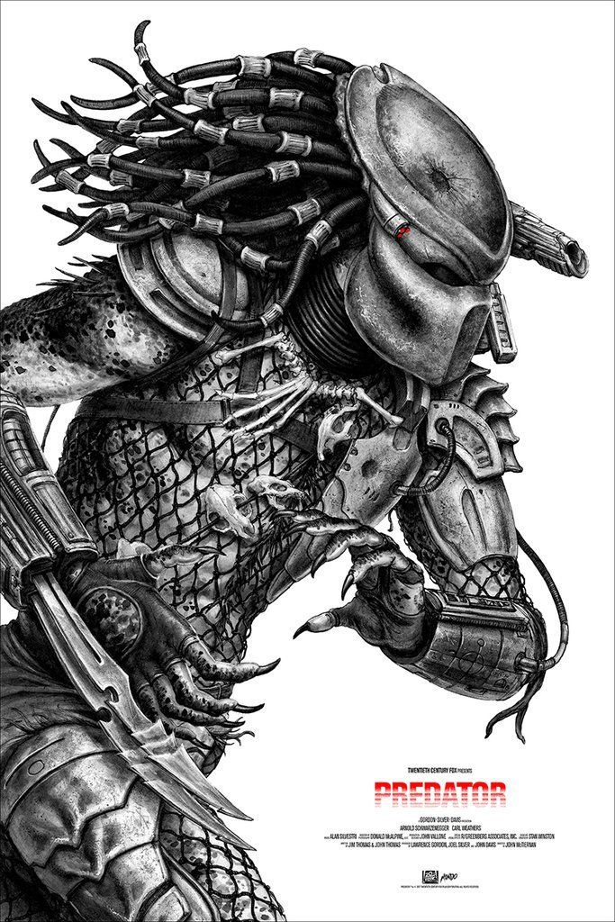 Cool Stuff: Mondo's 'Predator' Poster by N.C. Winters Lunges into Action