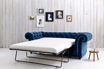 1240....Churchill Chesterfield Sofa Bed
