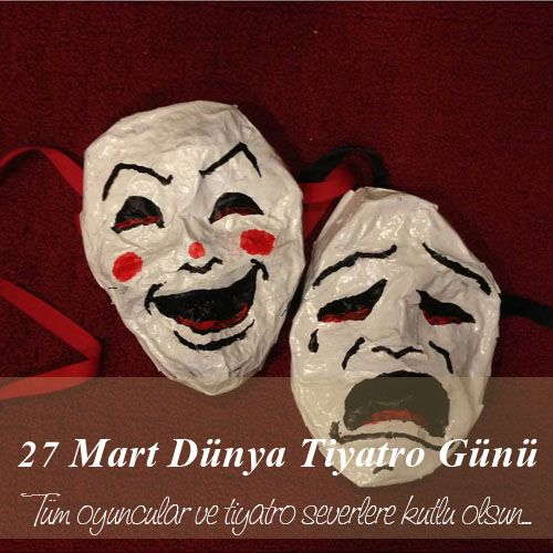 Tüm değerli oyuncular ve tiyatro severlere kutlu olsun... #27MartDünyaTiyatroGünü