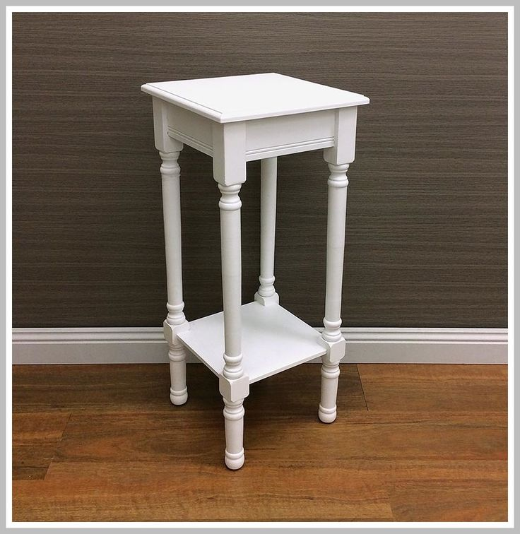 65 reference of narrow white nightstand in 2020 White