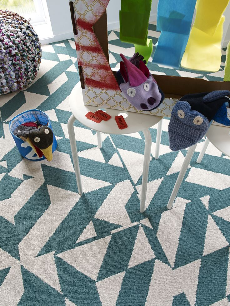 Funky, fun and full of life. Our Twisted Spokes carpet square's are sure to