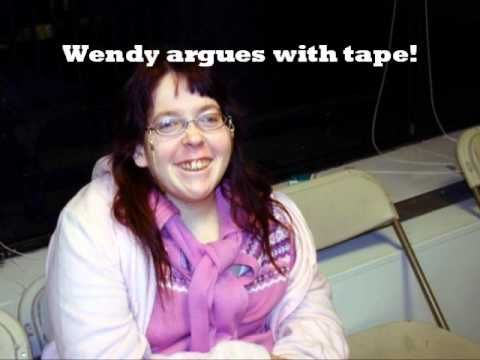 Howard Stern - Wendy the Retard argues with tape