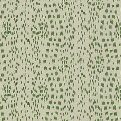 8012138-3 Les Touches Green Brunschwig and Fils Fabrics
