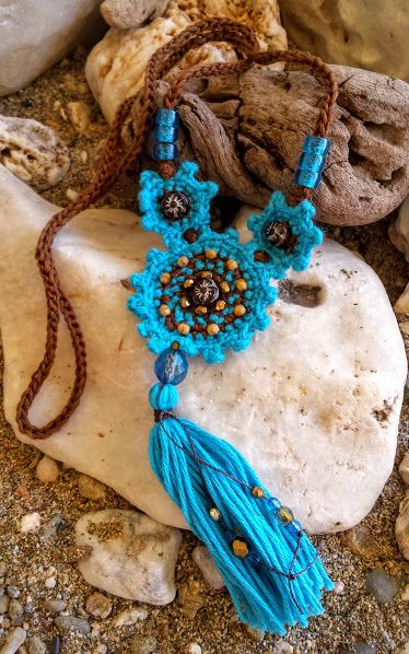 Crochet necklace                                                                                                                                                      More