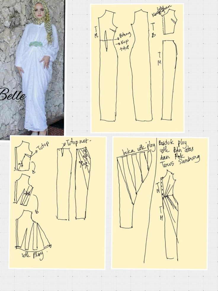 Dress for hijabers