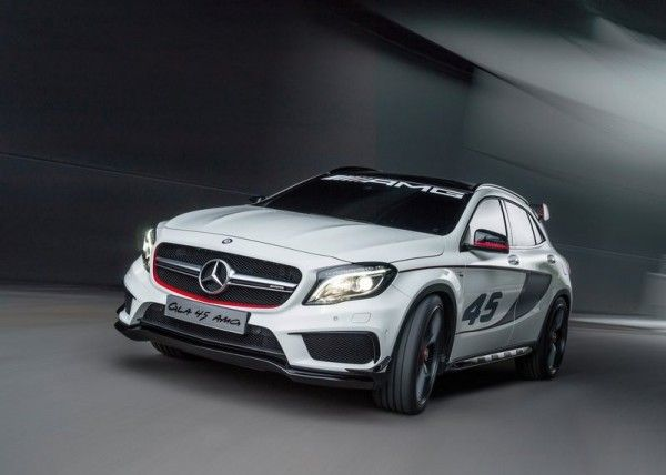 2013 Mercedes Benz GLA45 AMG White 600x428 2013 Mercedes Benz GLA45 AMG Release Dates