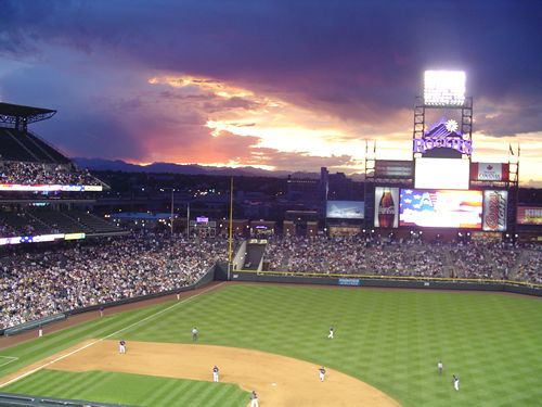 There's nothing better than a baseball game and there's nothing better than one at Coor's Field with the Colorado Rockies in the background! Plus, it holds the best team in MLB!