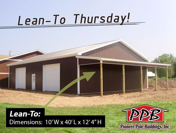 Its Lean To Thursday Everyone Building Dimensions 40 W X 60