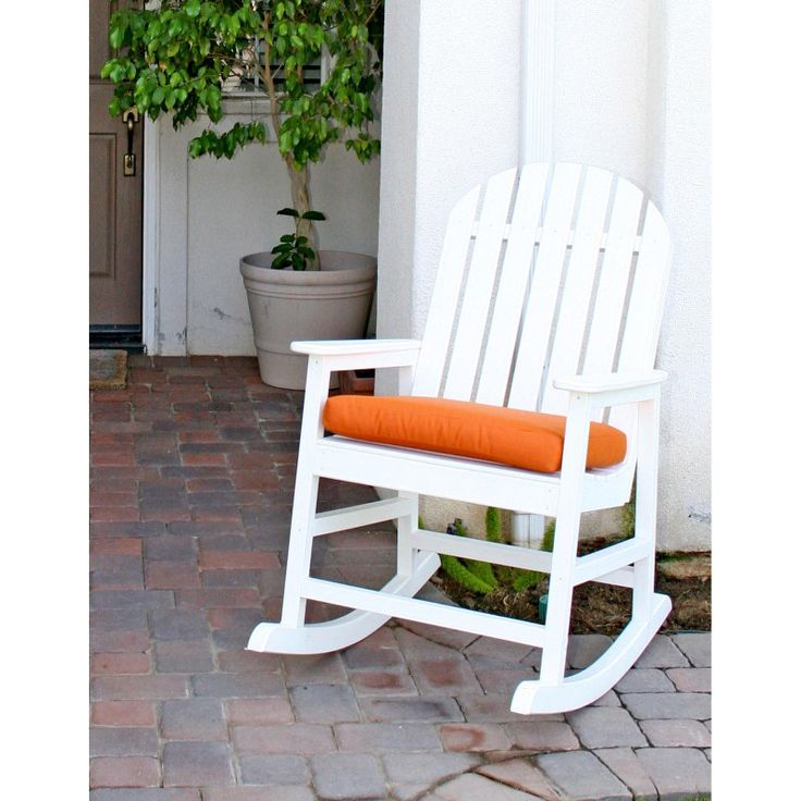 outdoor eagle one alexandria recycled plastic rocking chair
