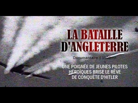 La Bataille d'Angleterre, l'authentique histoire - Documentaire 2nd guerre mondiale - YouTube