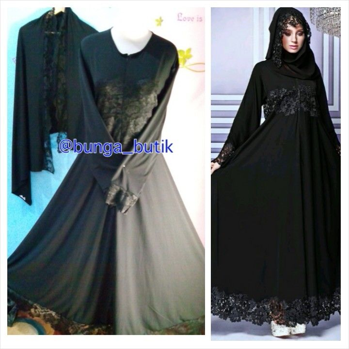 Gamis pesta syari aurelia (PO) idr 685.000 warna by request dp 50%
