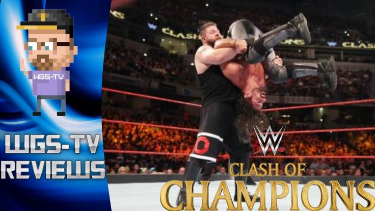 WWE Clash Of Champions 2016 - #WWEClash - WGS-TV Reviews