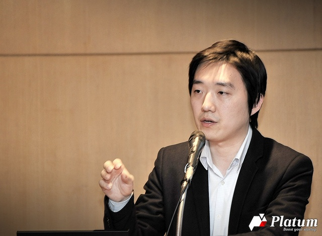 """Korean press reporting on KnowRe's win as """"Best Instructional App"""" in the NYC Department of Education's Gap App Challenge. Pictured is Co-CEO Yong Jae Kim."""