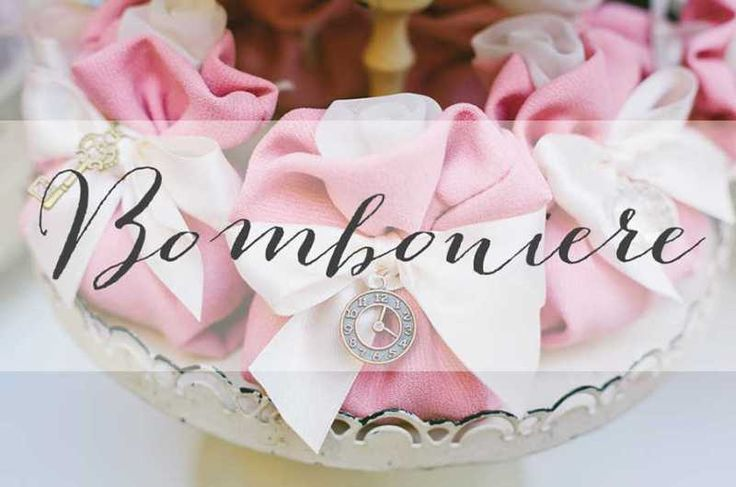 Italian Bomboniere or Favour by Simmi Floral Desing