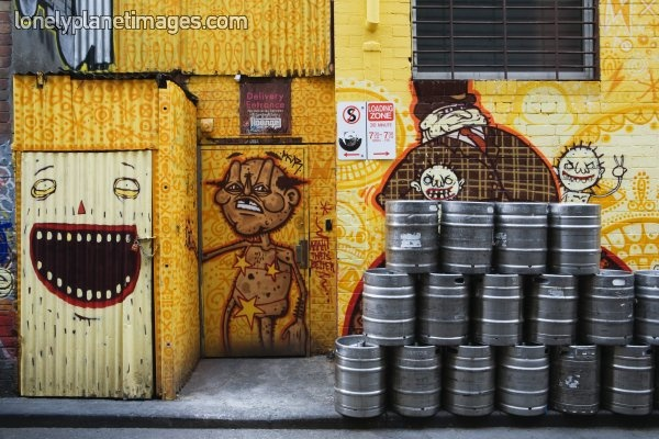 kegs and art