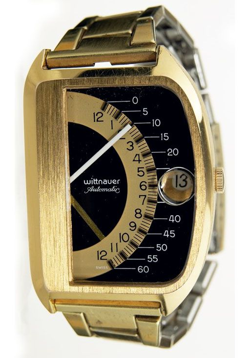 1969 Wittnauer Double Retrograde - vintage watch