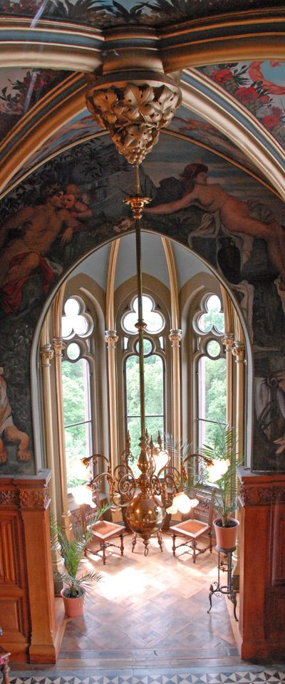 Schloss Drachenburg, Königswinter, North Rhine-Westphalia, Germany - interior - built late 19th century