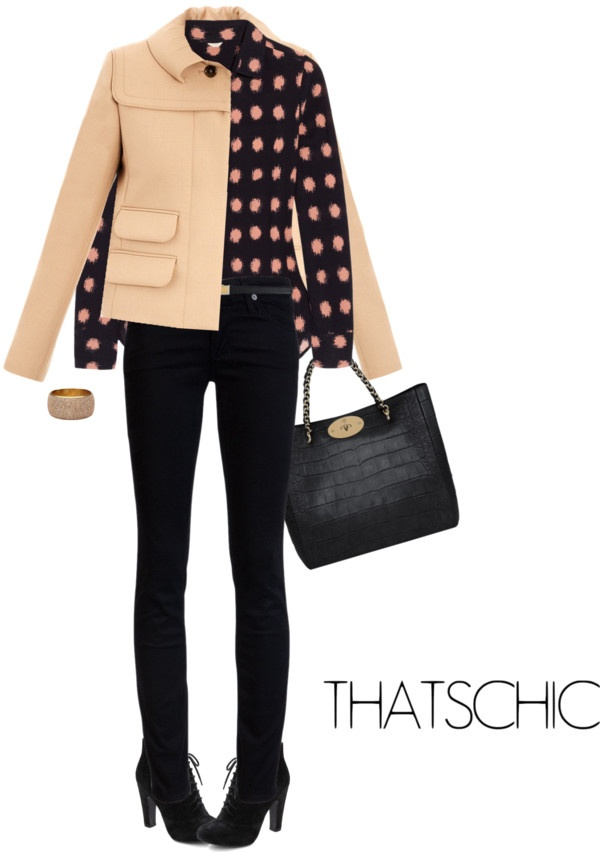 """""""Jacket by CHLOE"""" by fashionmonkey1 ❤ liked on Polyvore"""