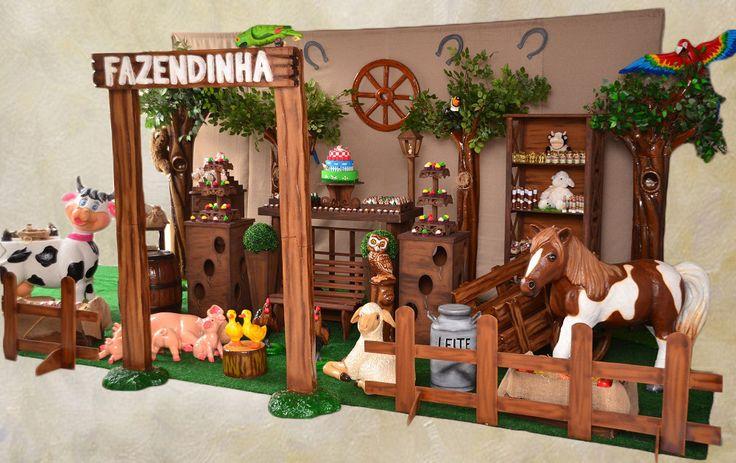 Decoração de festa infantil especial - Tema Fazendinha